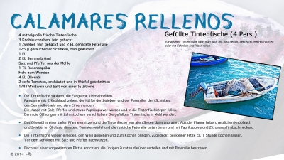 Cantina № 8 – Calamares rellenos @ Hans Keller
