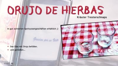 Cantina № 52 | Orujo de hierbas (Kräuter Tresterschnaps) © Hans Keller