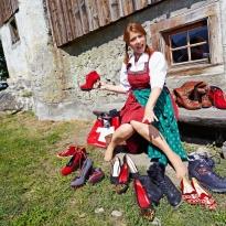 Heidi at Swiss Mountains @ Hans Keller