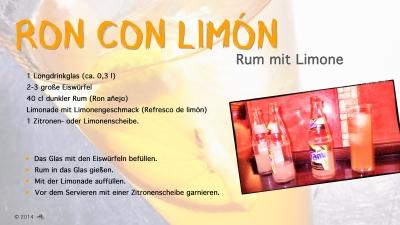 Cantina № 7 – Ron con limón @ Hans Keller