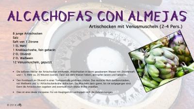 Cantina № 11 – Alcachofas con Almejas © Hans Keller