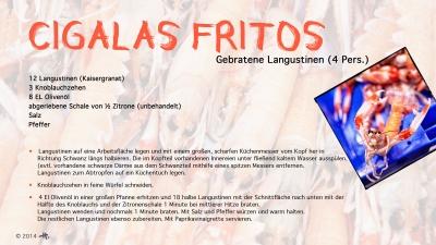 Cantina № 14 – Cigalas fritos (gebratene Langustinen) © Hans Keller