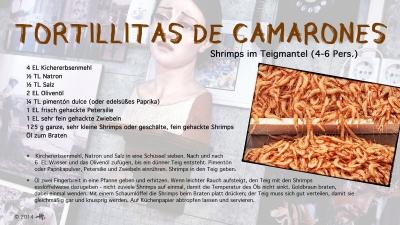 Cantina № 21 – Tortillitas de camarones (Shrimps im Teigmantel) © Hans Keller