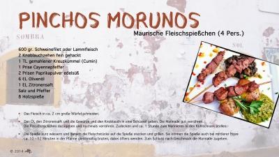 Cantina № 28 – Pinchos morunos (Maurische Fleischspießchen) © Hans Keller