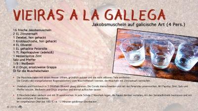 Cantina № 29 – Vieiras a la gallega (Jakobsmuscheln auf galicische Art) © Hans Keller