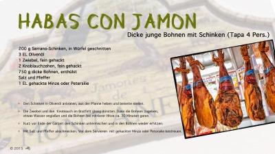 Cantina # 42 | Habas con Jamon (Dicke junge Bohnen mit Schinken) © Hans Keller