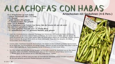 Cantina # 44 | Alcachofas con habas (Artischocken mit Saubohnen) © Hans Keller